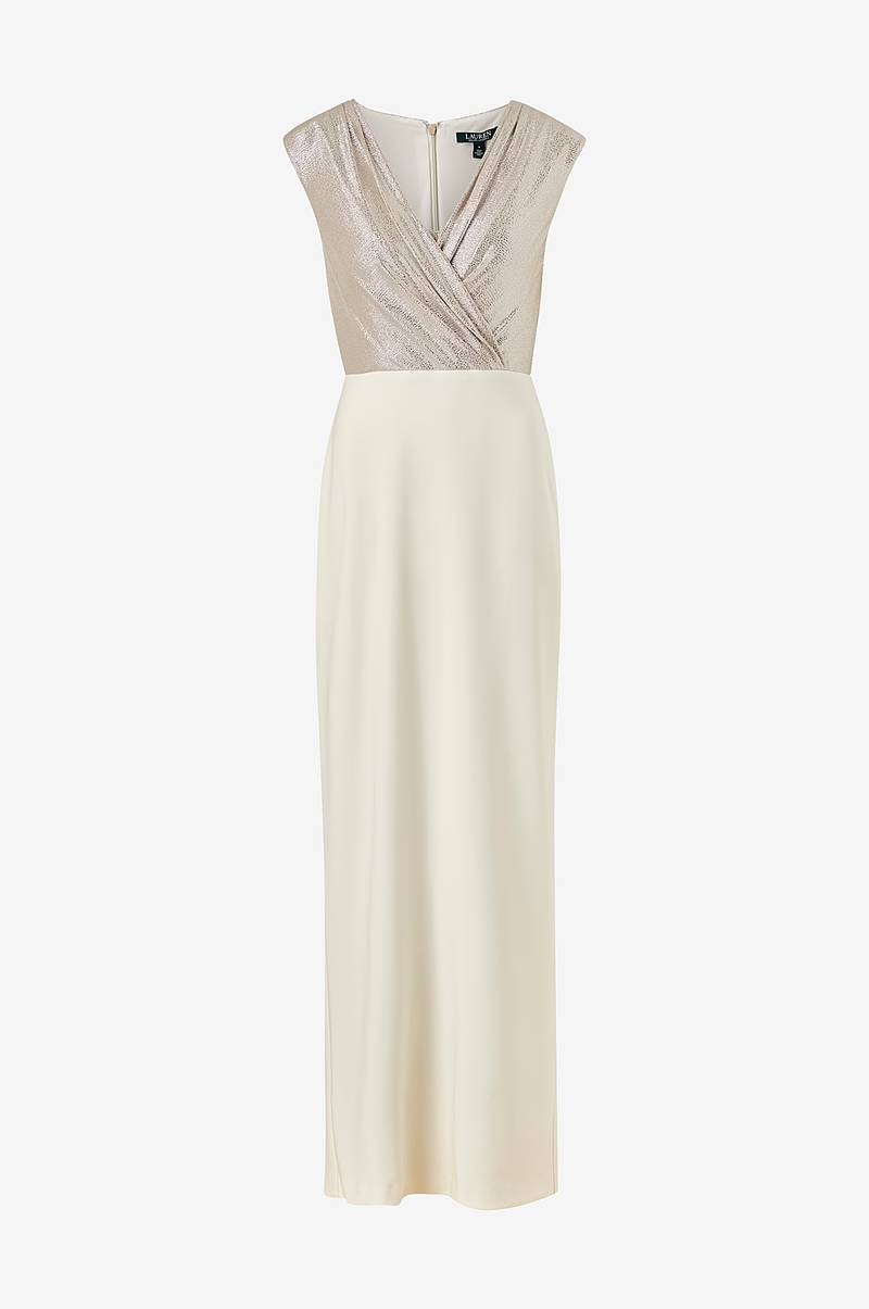 Maxikjole Irakita Cap Sleeve Evening Dress