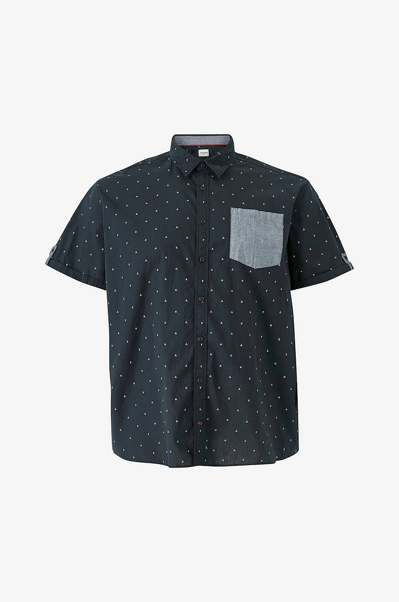 Skjorte jcoMars Shirt SS One Pocket PS