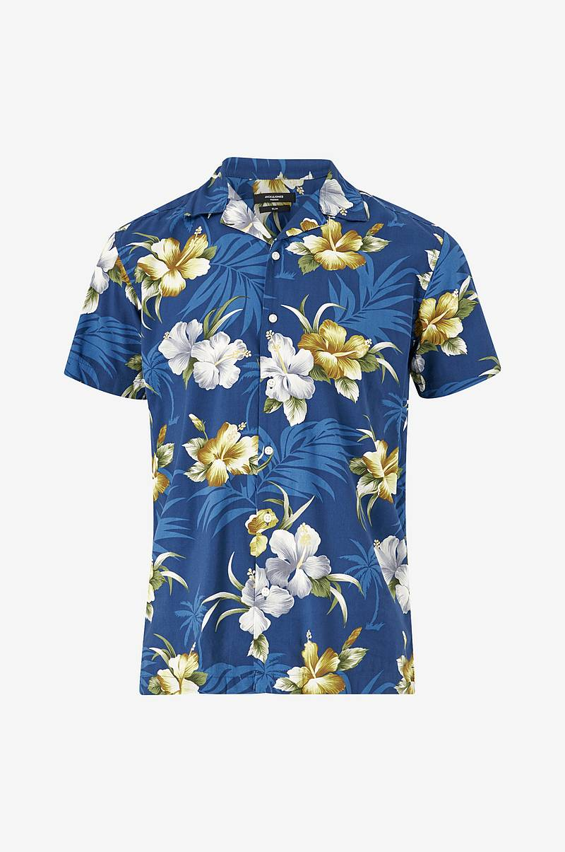 Skjorte jprDale Resort Shirt S/S One Pocket, slim fit