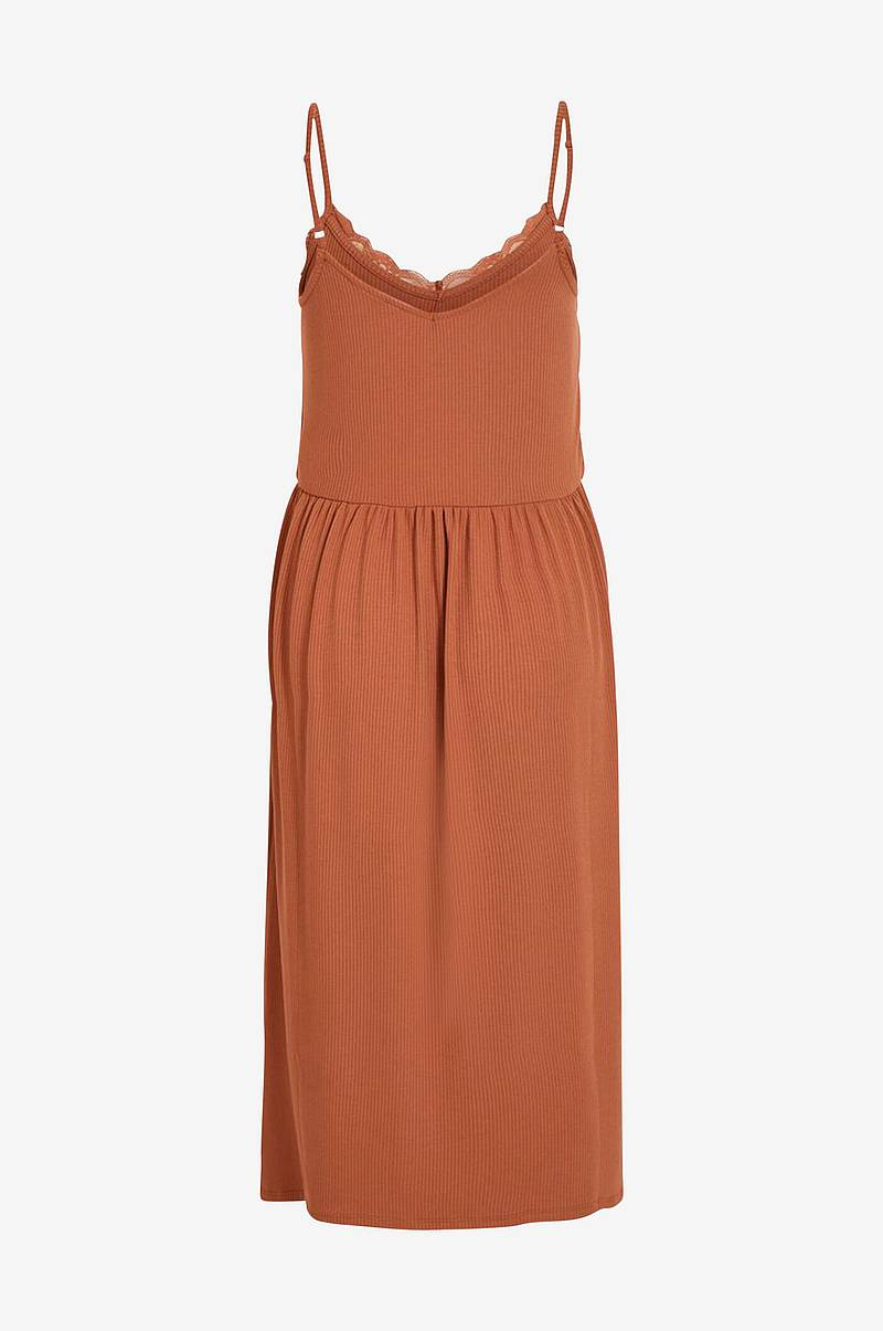 Kjole viSofi Strap Midi Dress