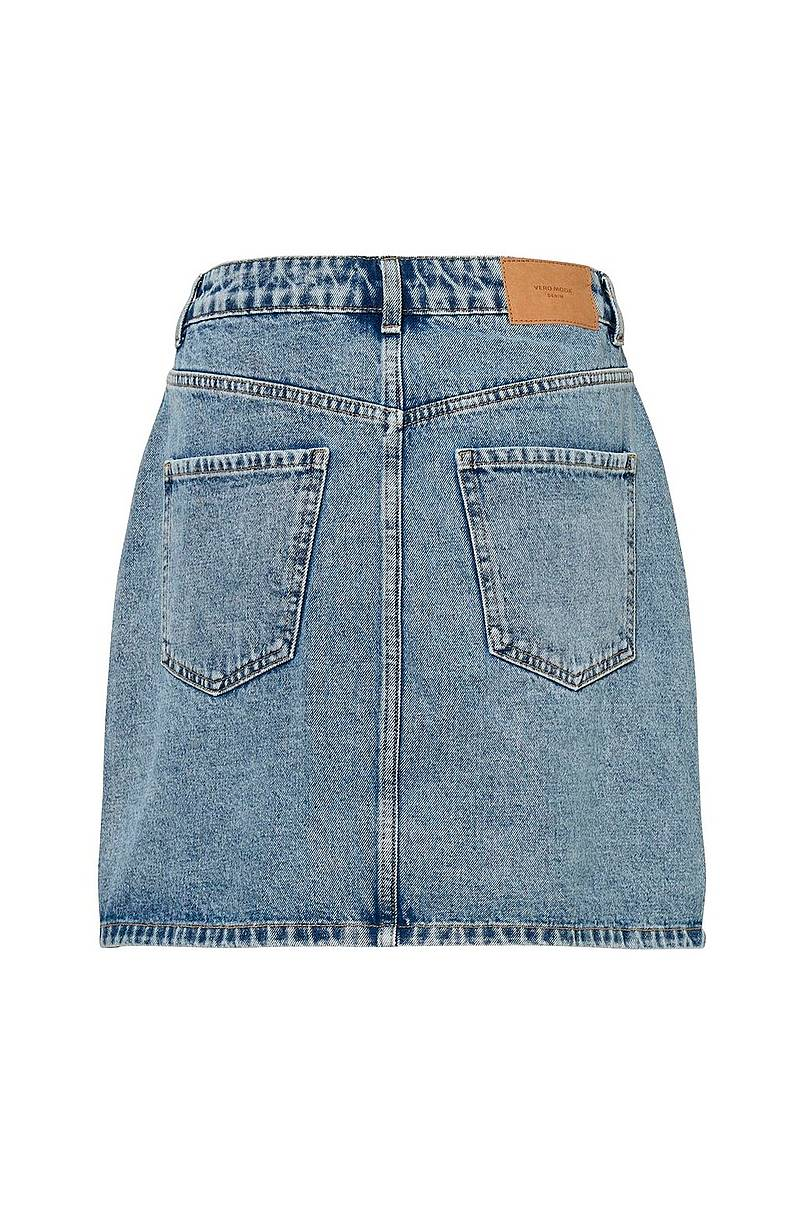 Farkkuhame vmKate HR S Denim Skirt