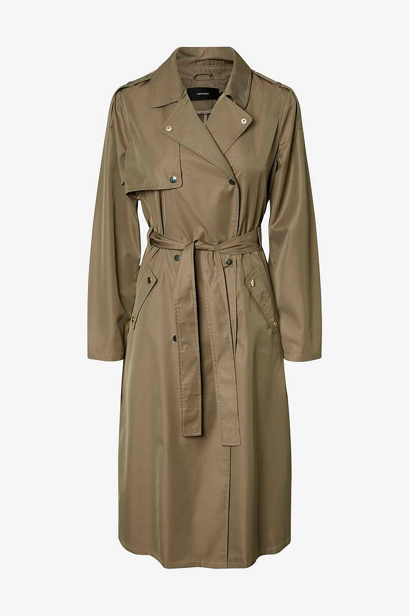 Kåpe vmElya Long Trench Coat