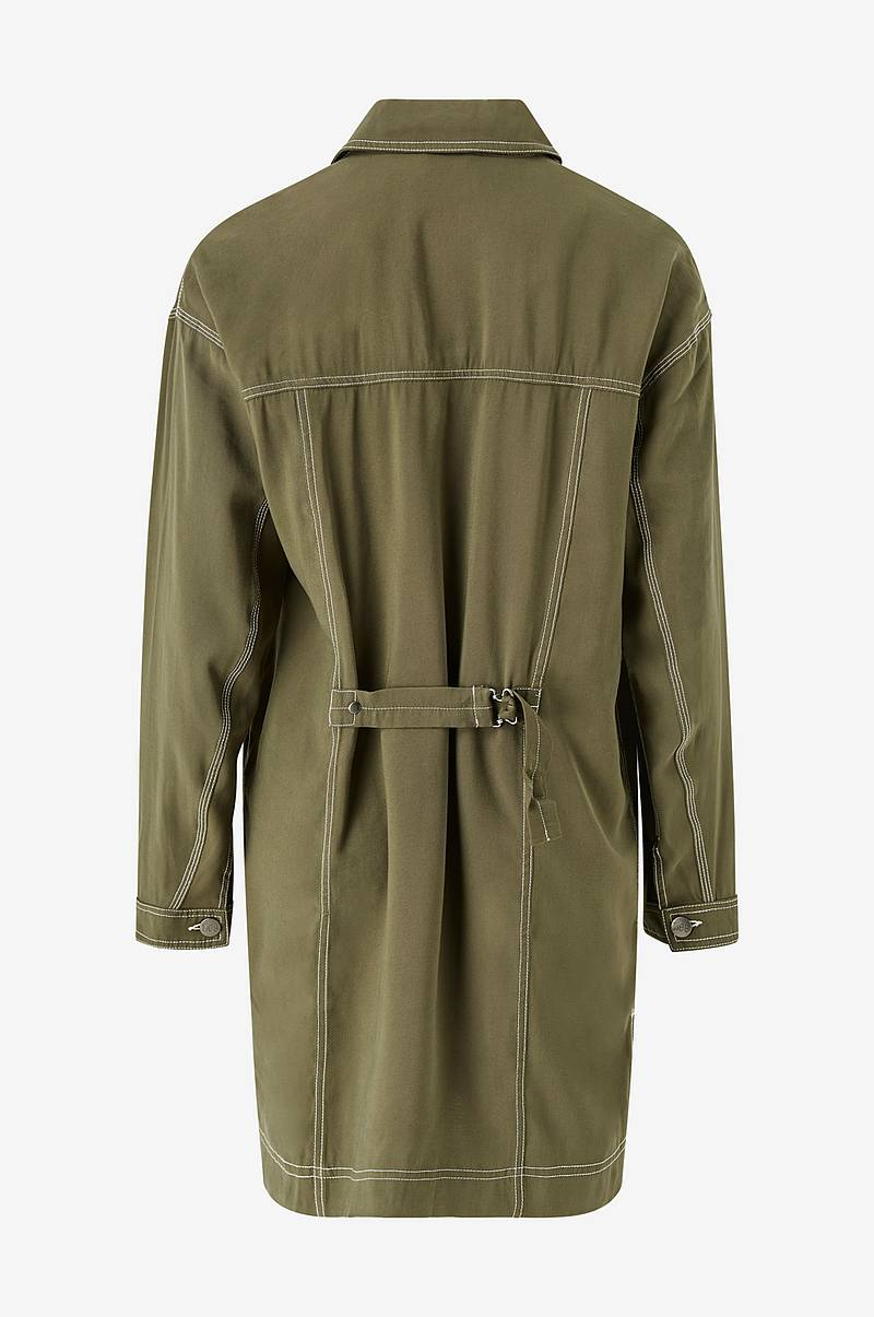 Frakke Elongated Duster Coat