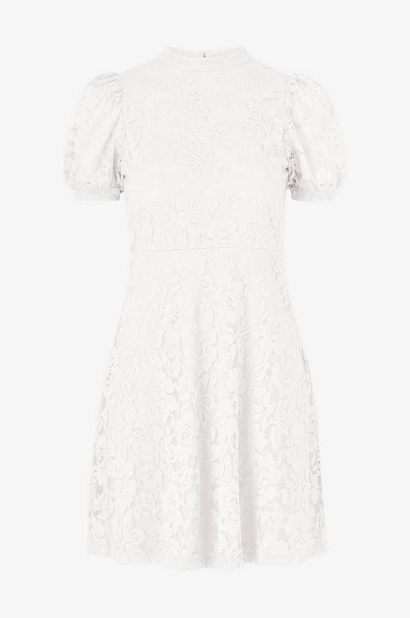 Blondekjole viLilja S/S Puff Sleeve Lace Dress