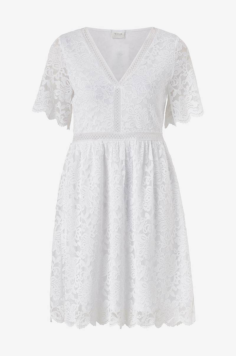 Blondekjole viNovo S/S Lace Dress