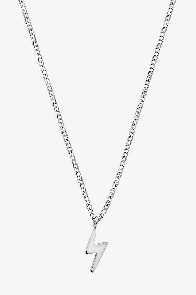 Halskjede Lightning Mini Necklace Steel