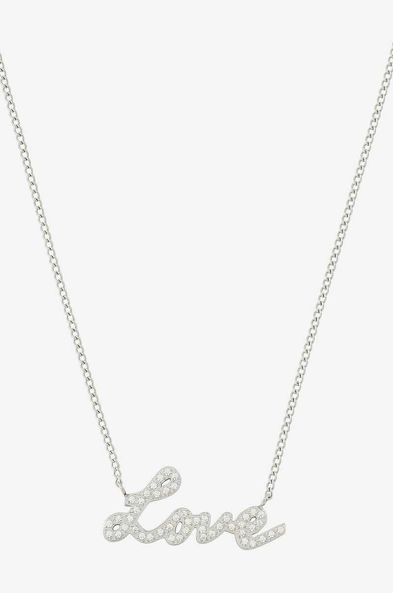 Halskjede Love Necklace Steel
