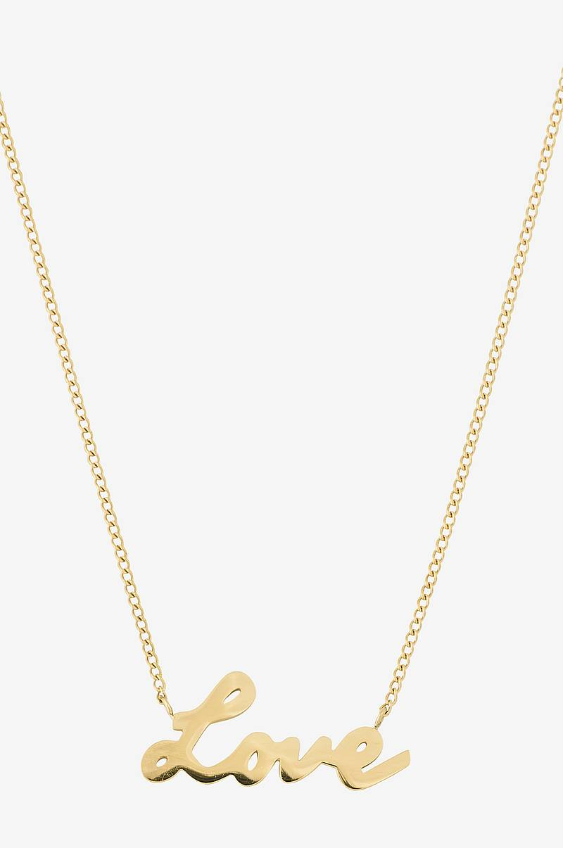 Halskjede Love Necklace Gold