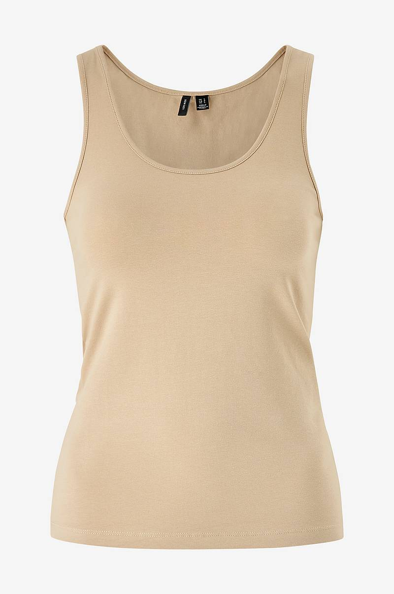 Singlet vmMaxi My Soft Short Tank Top Ga Color