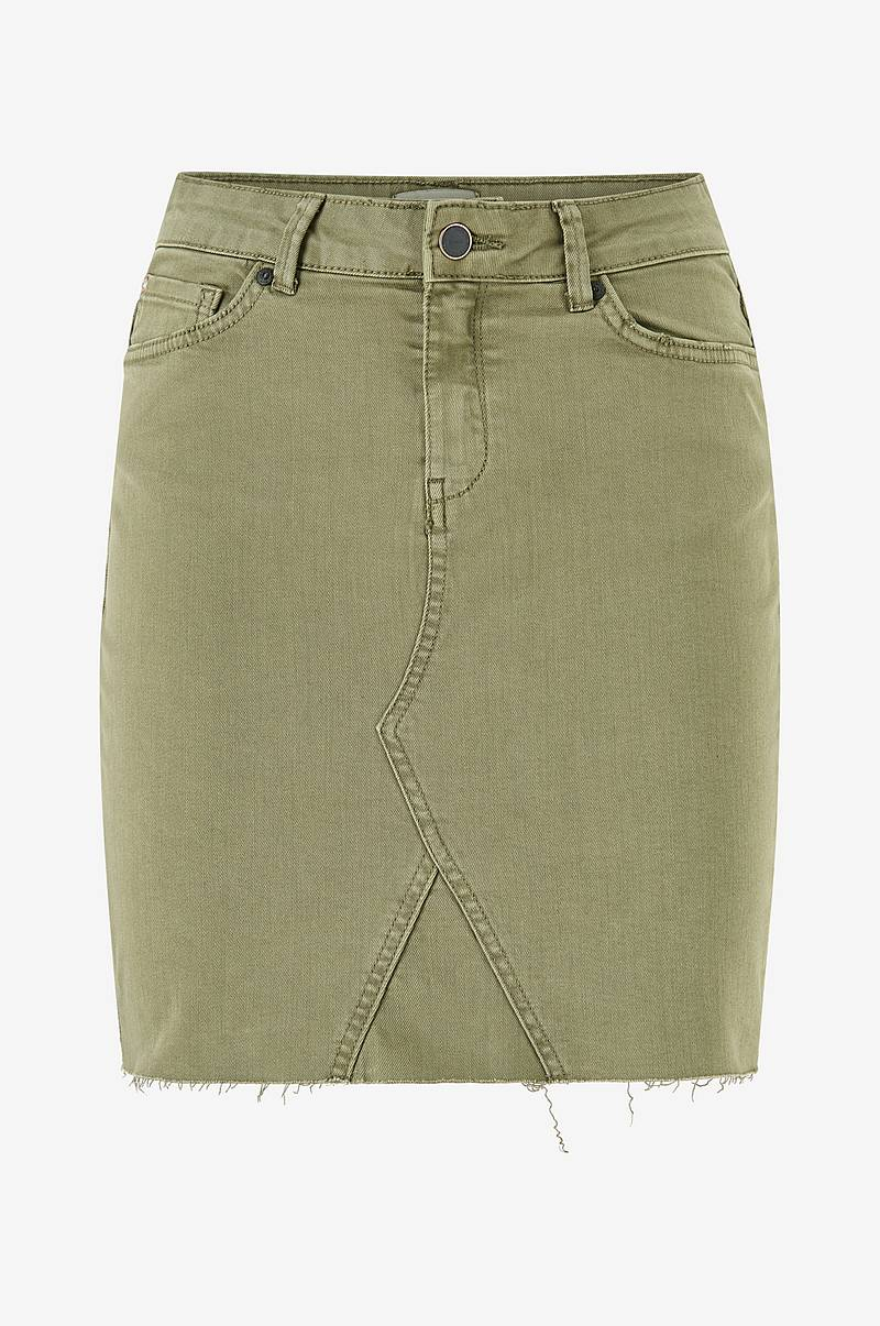 Hame onlFan Skirt Raw Edge Col