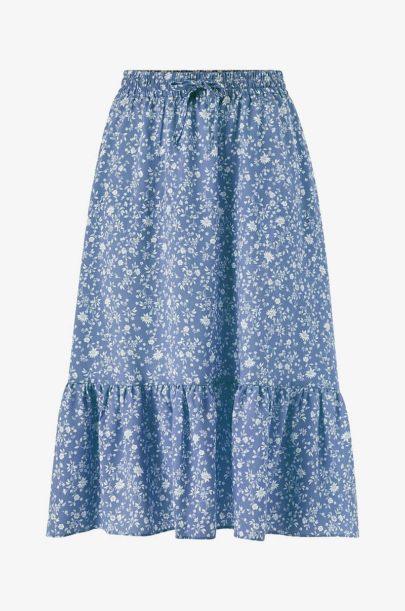 Kjol onlNadja-Addiction Long Aop Skirt