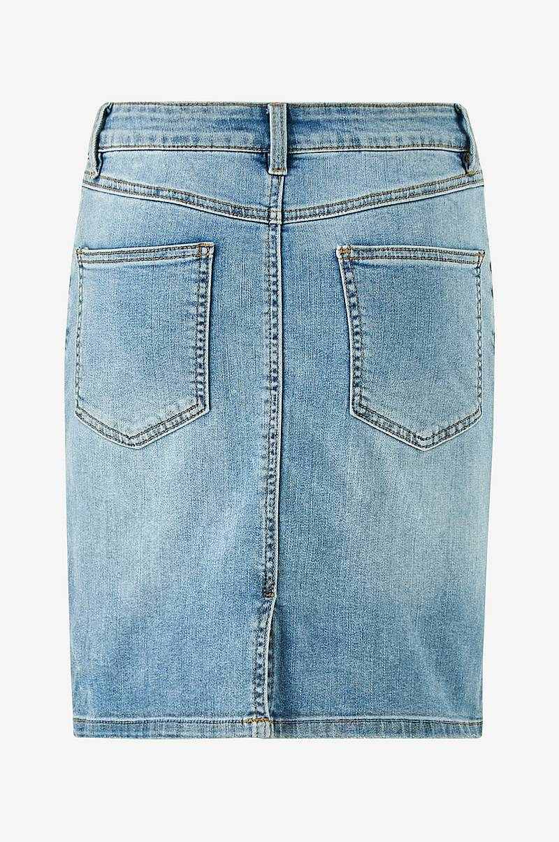 Jeansskjørt objWin New Denim Skirt