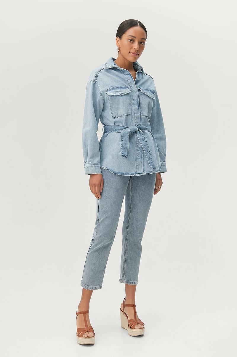 Paitatakki Utility Denim Shirt