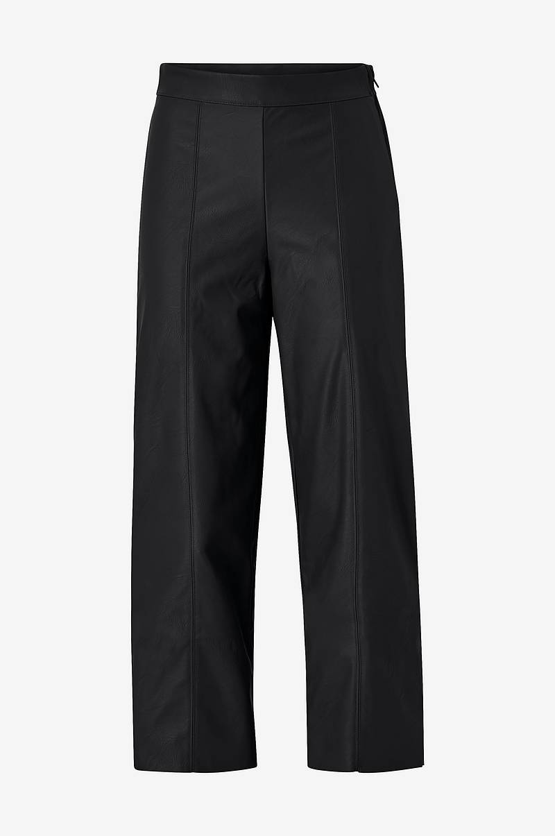 Bukse Holly PU Culotte Trousers