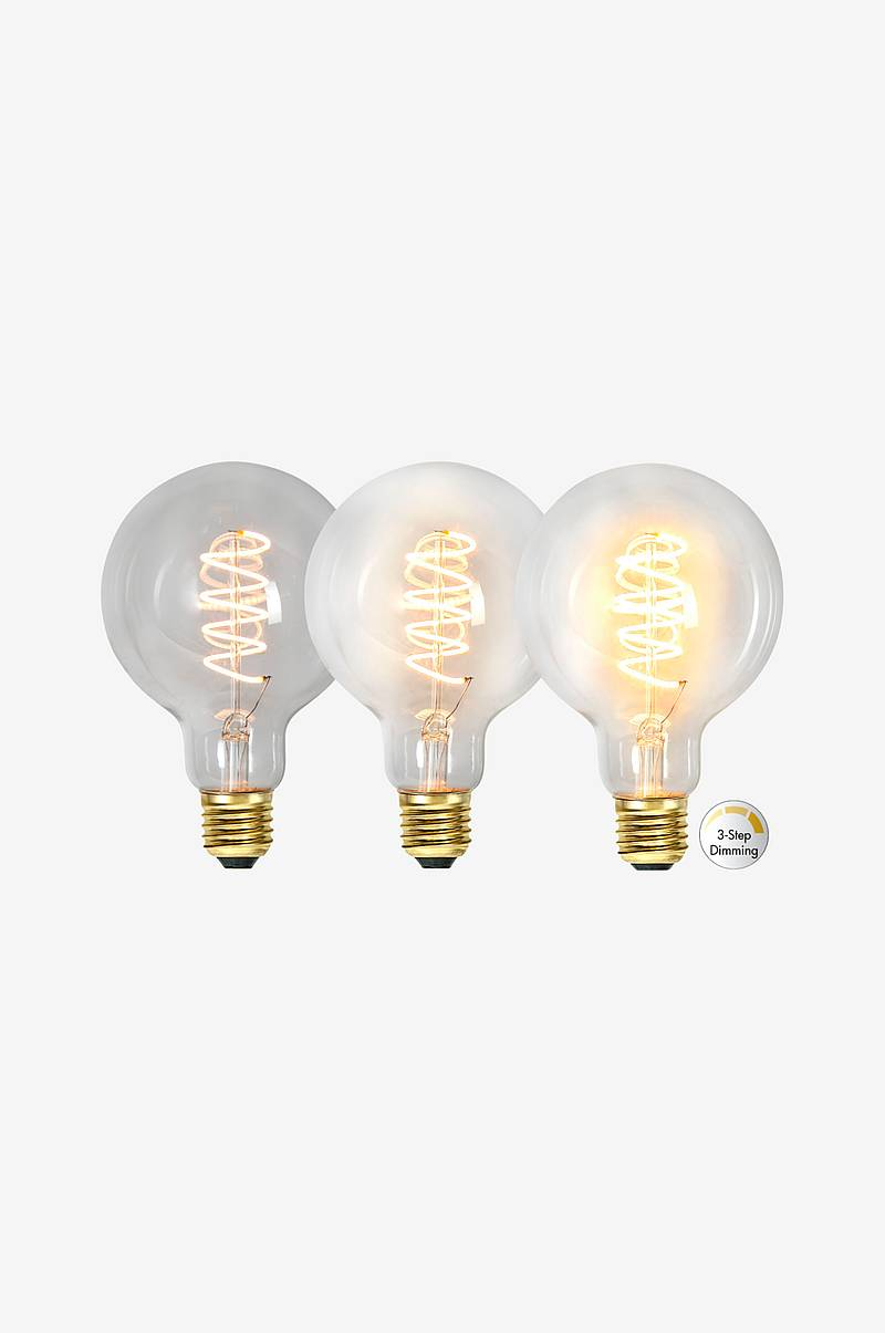 LED-valaisin G95, Decoled Spiral Clear 3-step