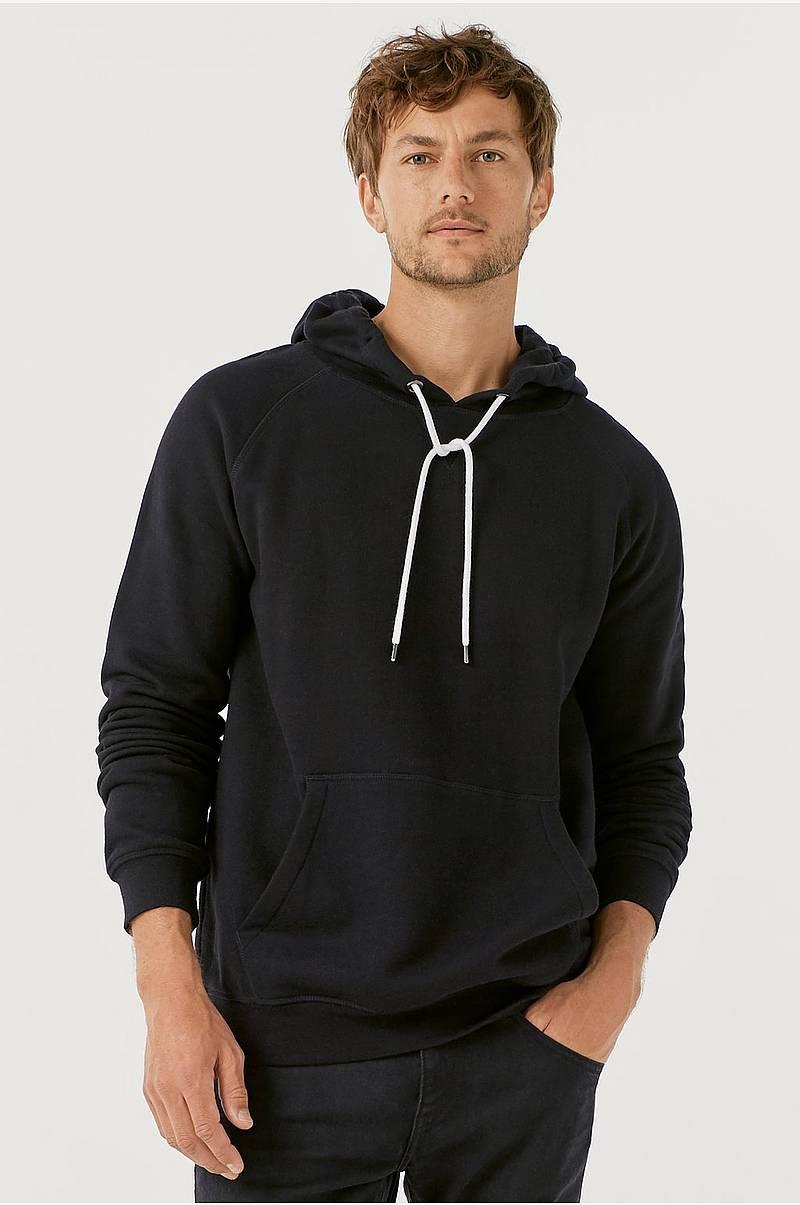 01054ab8 Hettesweatshirt med børstet innside