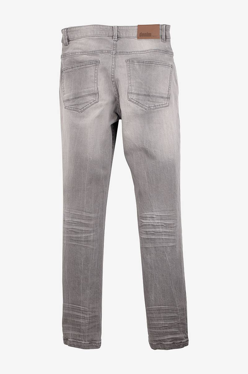 Jeans med handbrush-effekt, slim fit