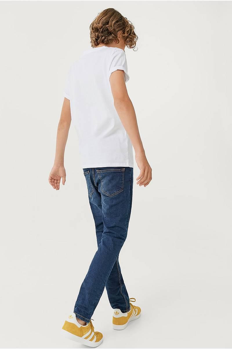 80b45d3a T-shirt i økologisk bomull 2-pk