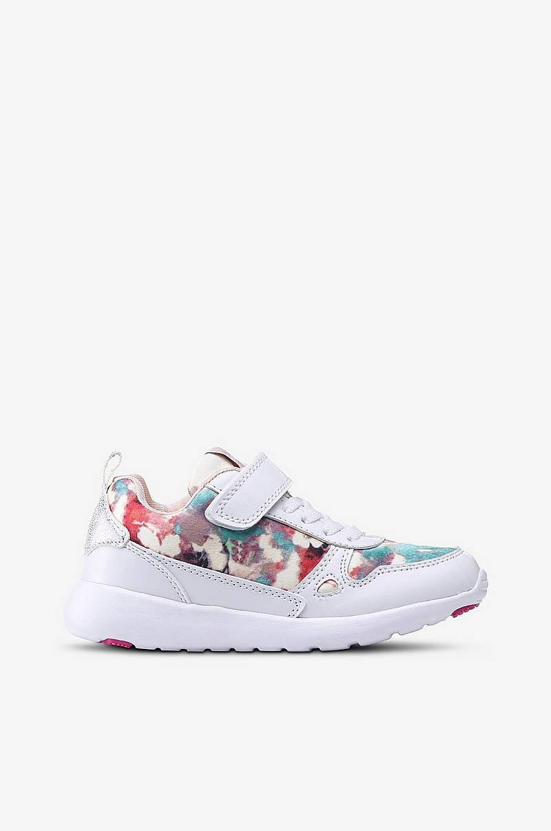 new style b4917 19749 Sneakers Brighton med blomster