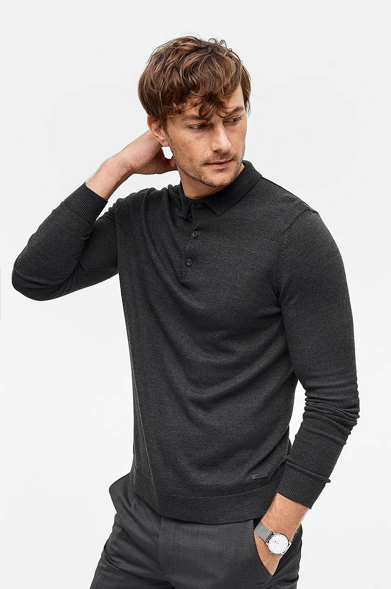Trøje Marlin Knit Collar