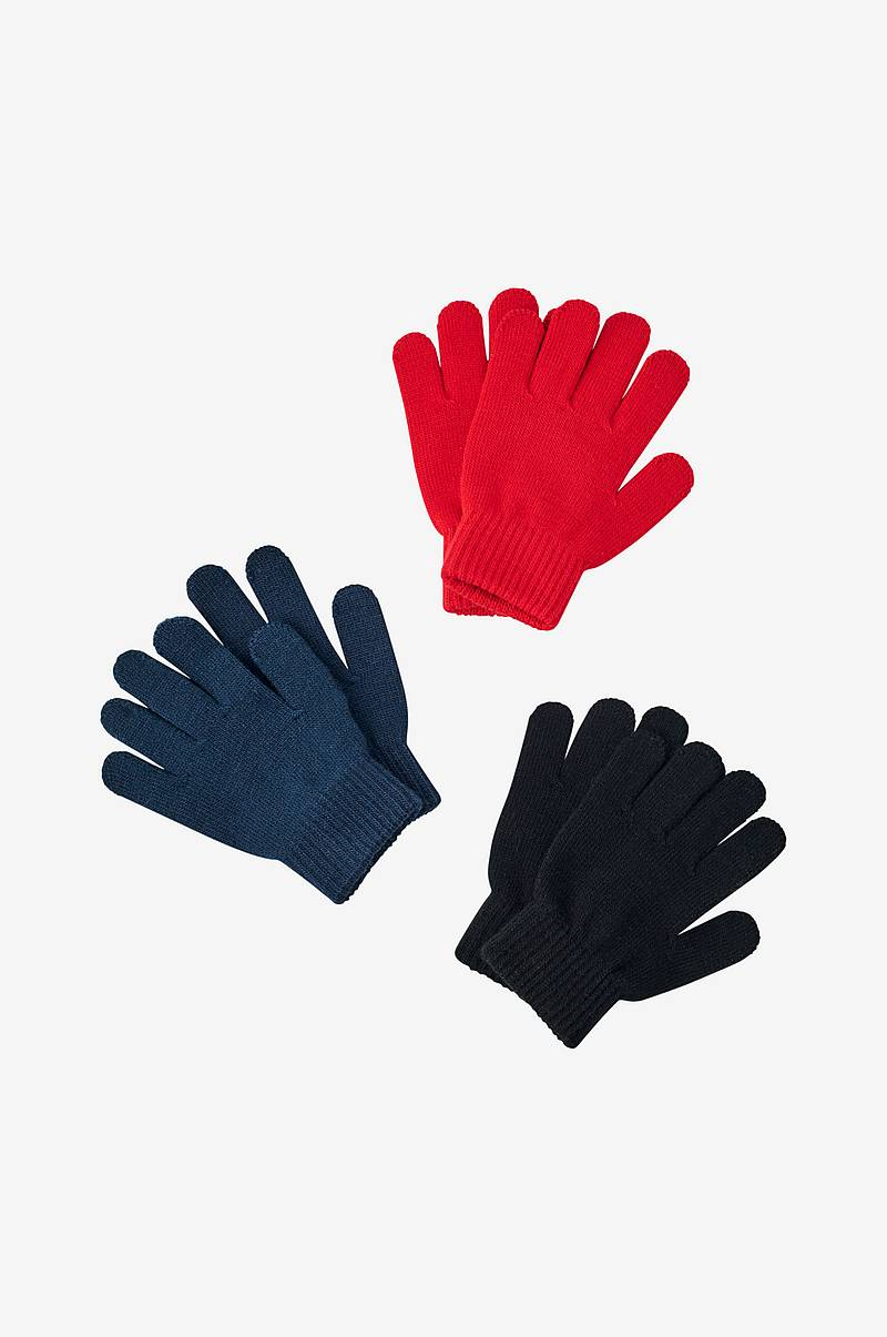 Fingervantar 3-pack Magic Gloves Kuna Peak