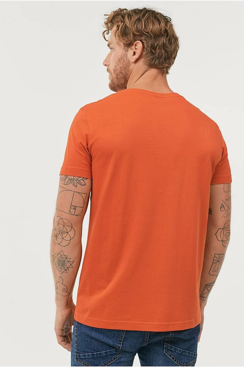 3e8365ca T-shirt med rund hals