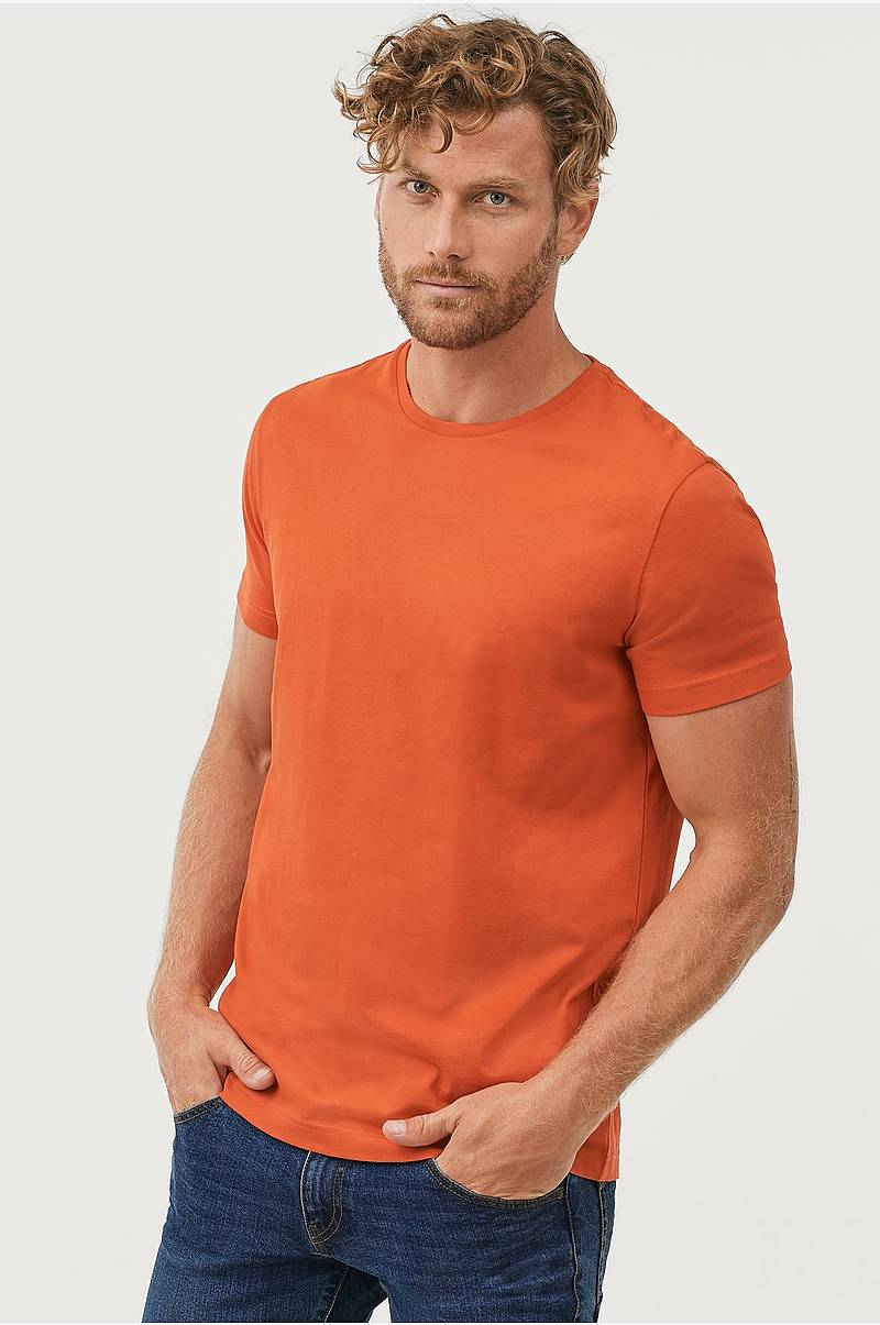 e06a5dab T-shirt med rund hals