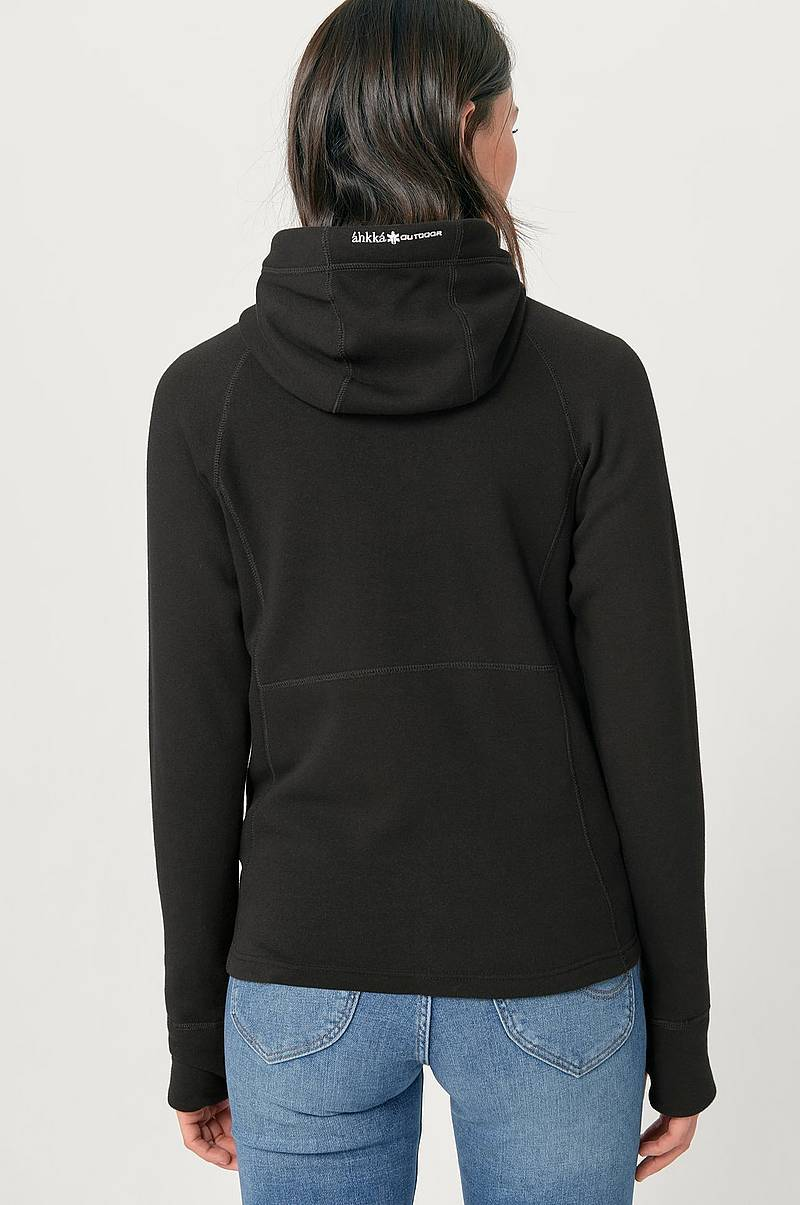 Fleece FZ Hoodie Flatface Tech collegetakki