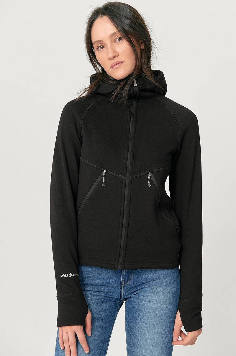 Collegetakki Fleece FZ Hoodie Flatface Tech