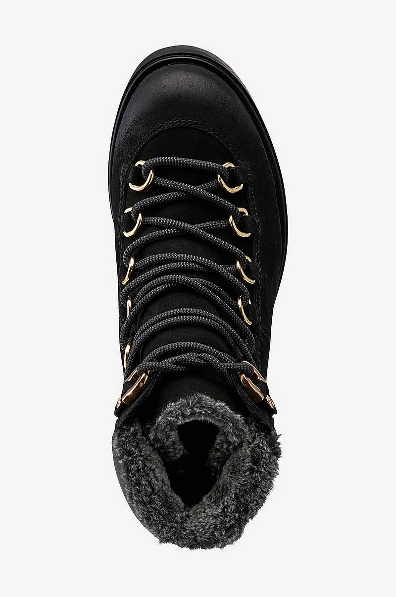 Støvler Alma Lace Up Svart