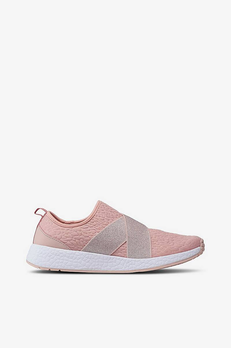 Sneakers Slip On med glimmer