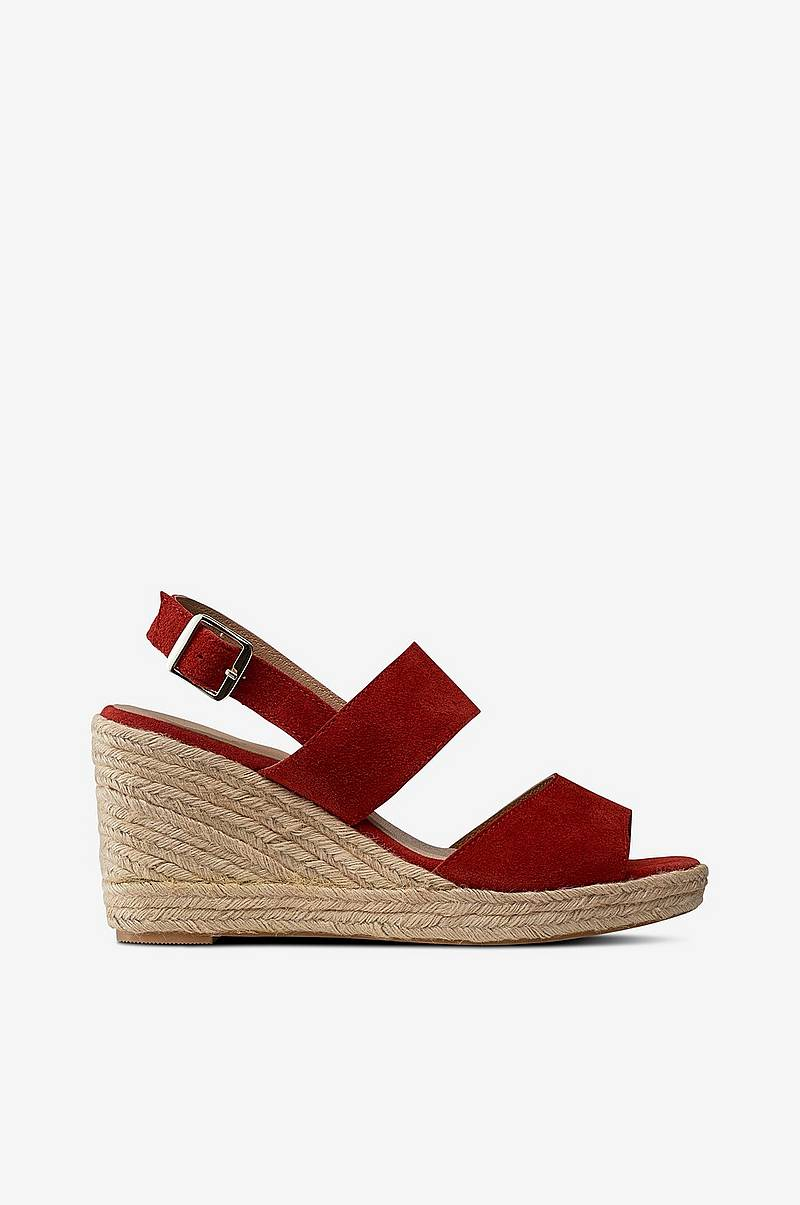 Sandal Wedge Suede