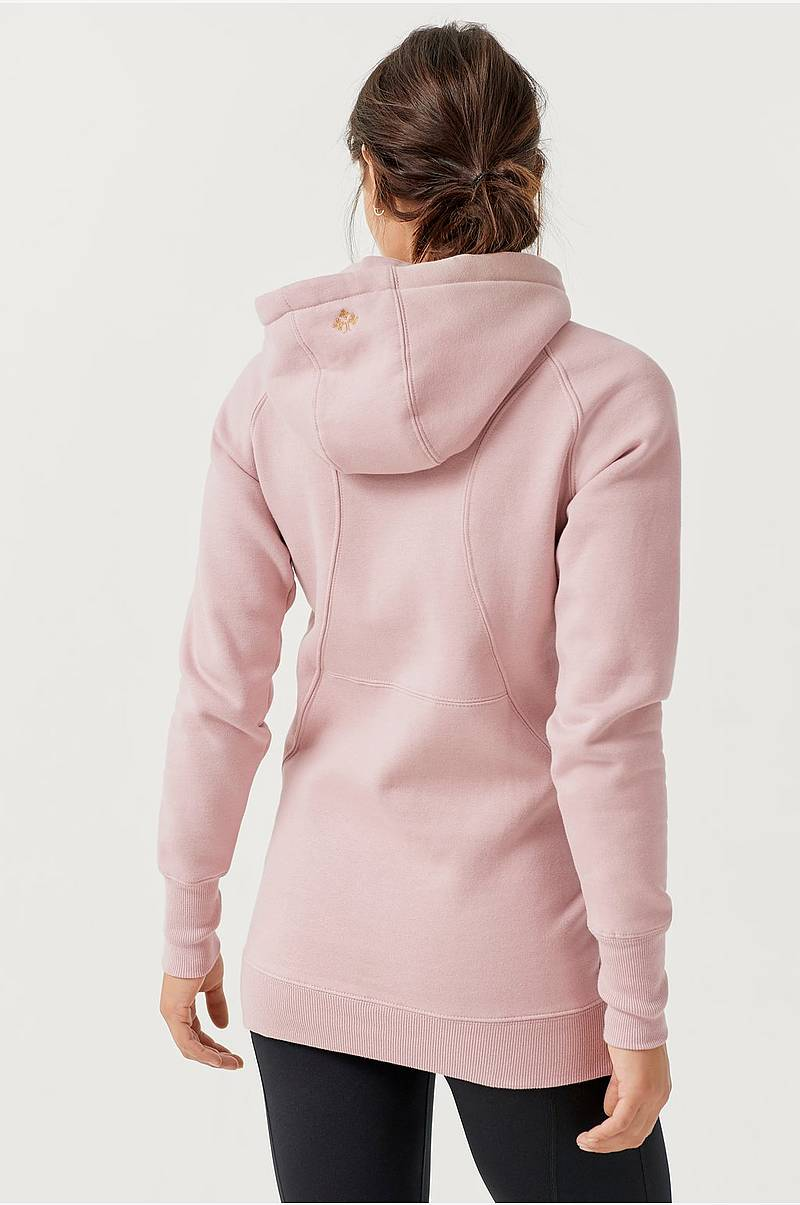 Huvtröja Yoga Hoodie Long BR Fleece HZ