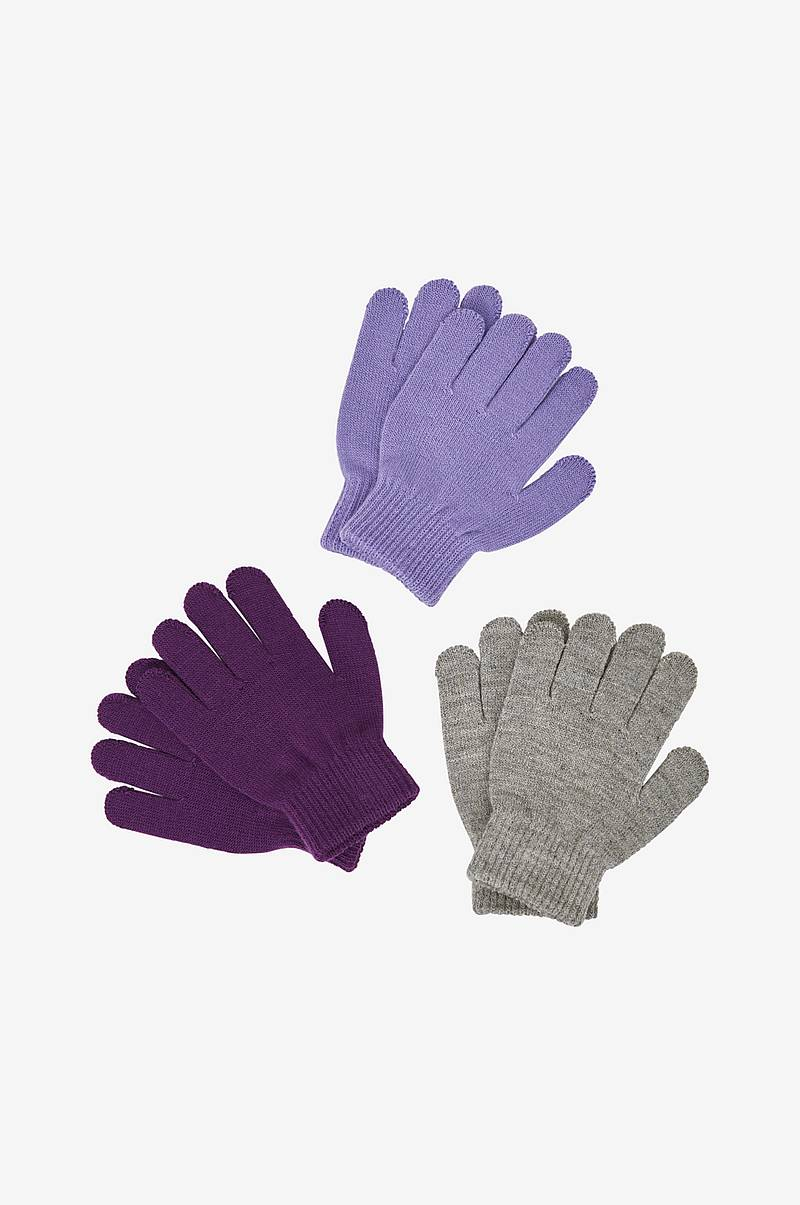 Fingervanter Magic Gloves 3-pak