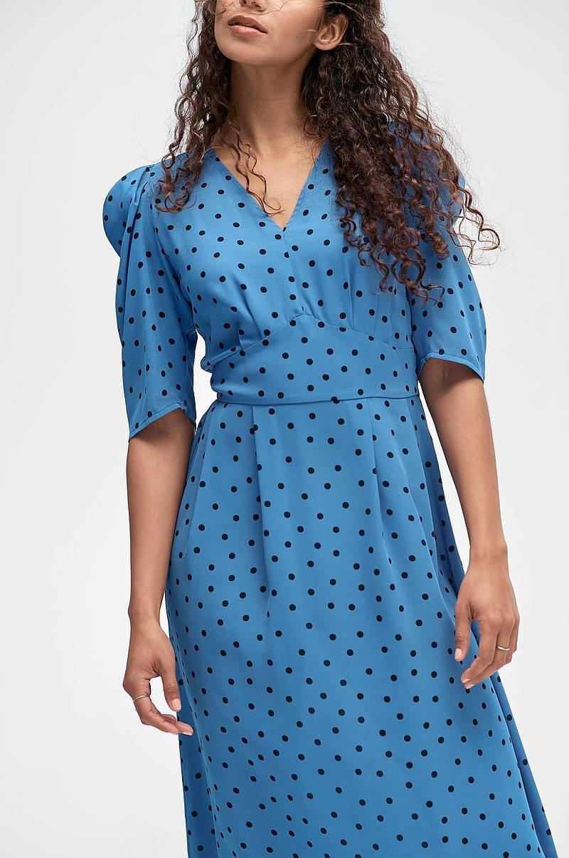 Ilse Jacobsen Maxikjole Nice01GG Dress Brun Dame Ellos.no