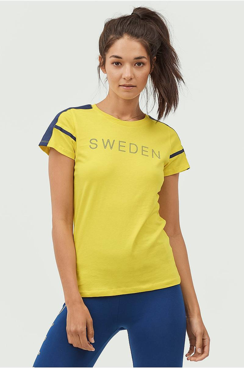 Top med Sweden-print