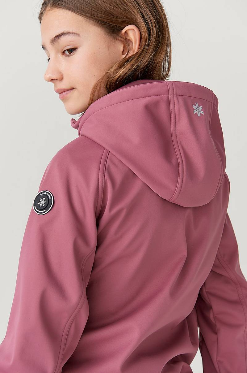 Softshelljakke Jacket JR med innside i fleece