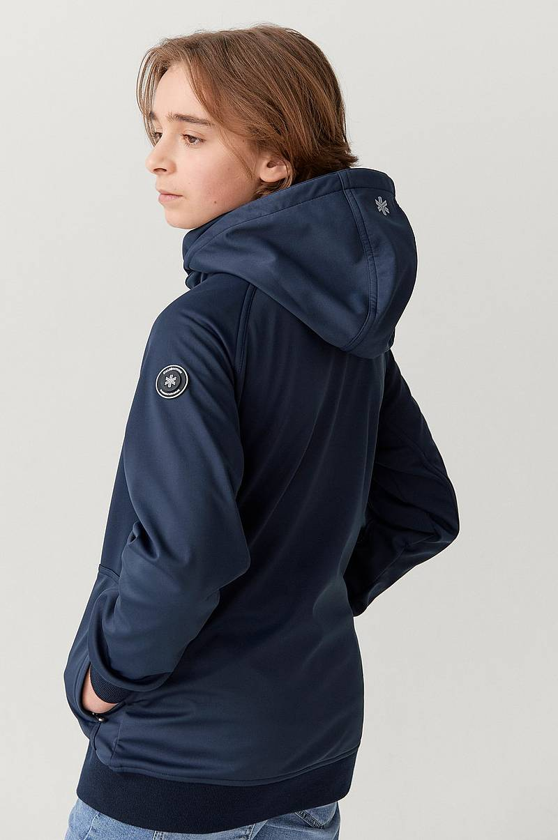 Softshelljacka Jacket JR med insida i fleece