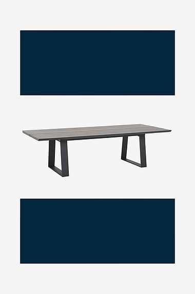 Nordic Furniture Group Sofabord Kilsund, 80x100 cm Sort