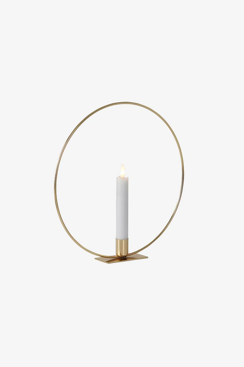 CANDLE RING borddekor med LED-lys
