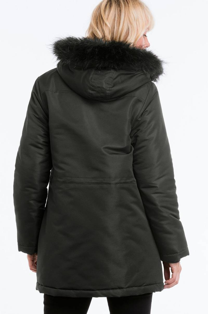 Ellos Collection Varmfôret jakke Svart Dame Ellos.no