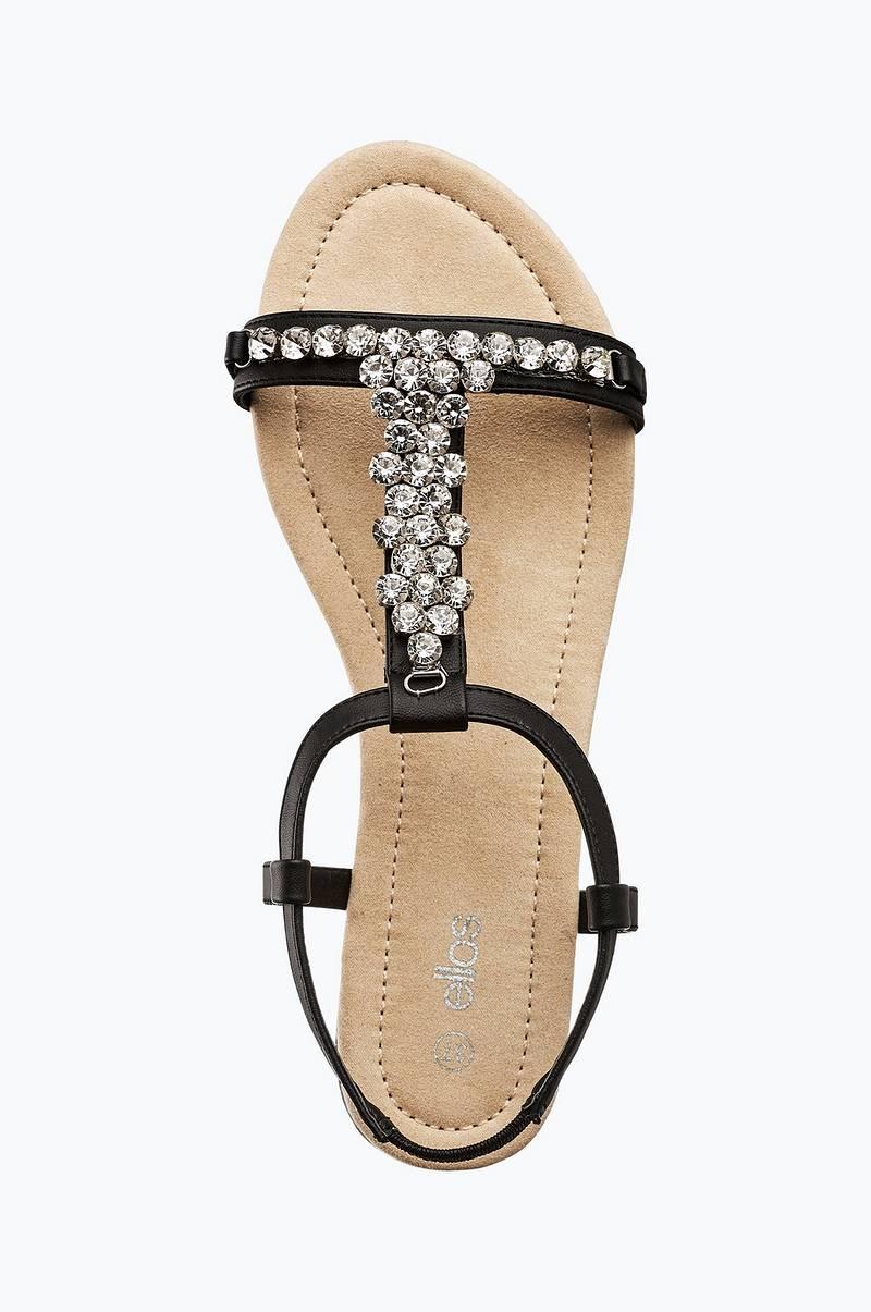 Sandaletter med strass