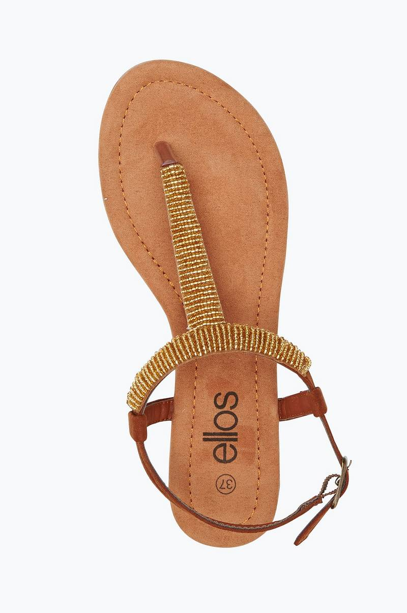 Sandal med pärlor | Skor.se