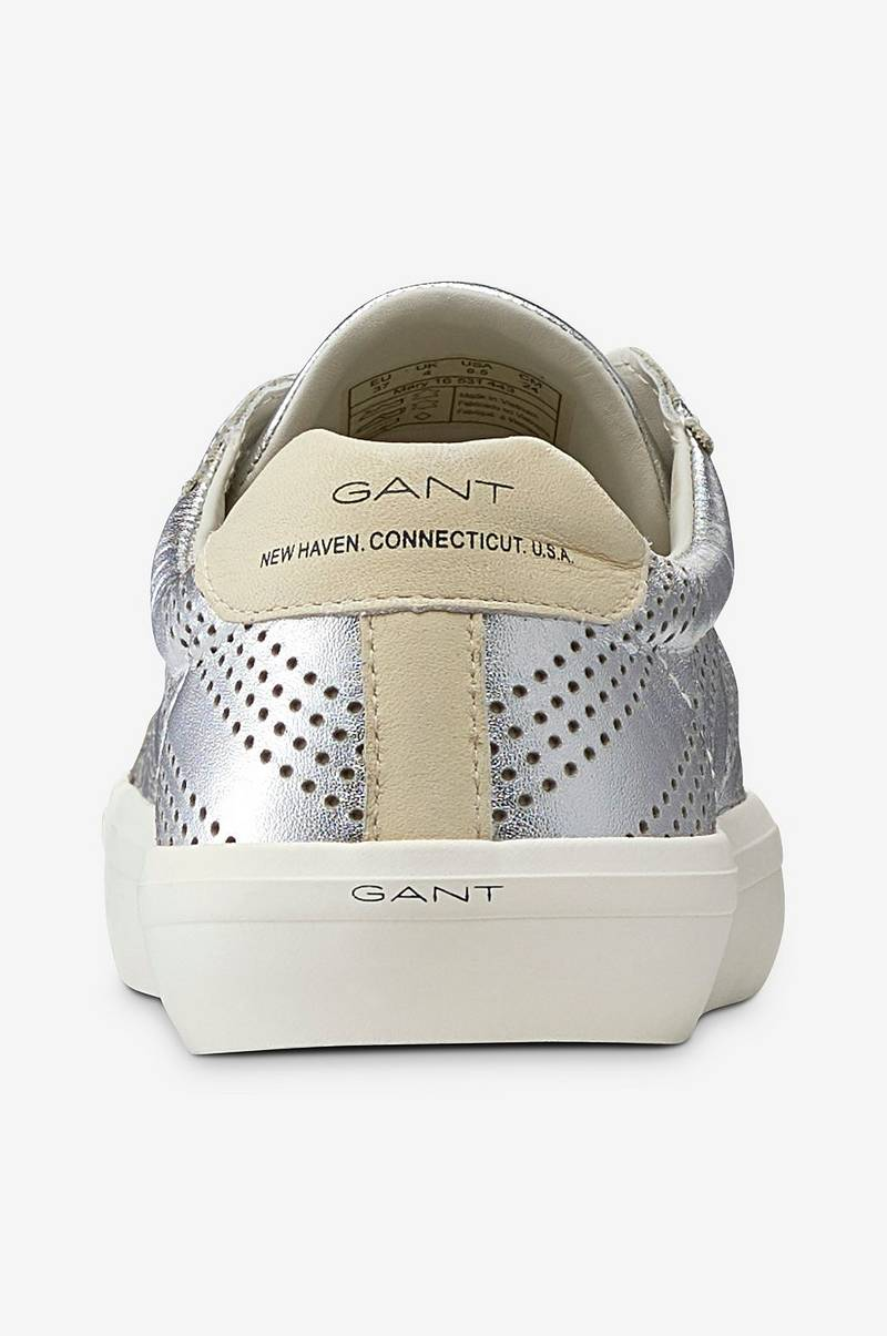 Gant Sneakers Mary Low Lace Shoes Silver Dam Ellos.se