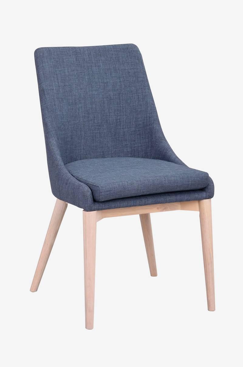 Rowico Stol Bea, 2 pak Blå Møbler Homeroom.dk