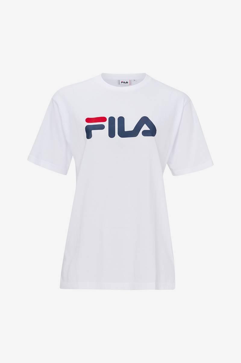 FILA T shirt Classic Pure Tee Hvid Herre Ellos.dk
