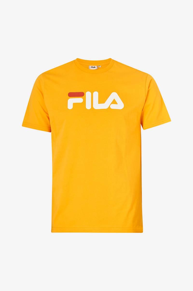 FILA T shirt Classic Pure Tee Gul Herre Ellos.dk