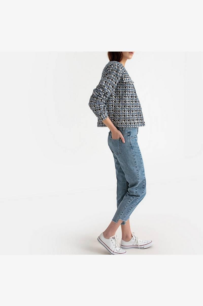 La Redoute Collections Rutete, kort jakke Blå Dame