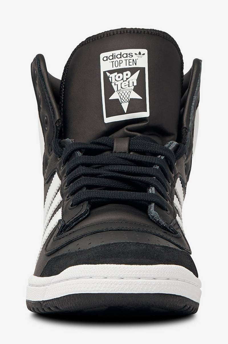 adidas Originals Sneakers Top Ten Hi Shoes Svart Dame