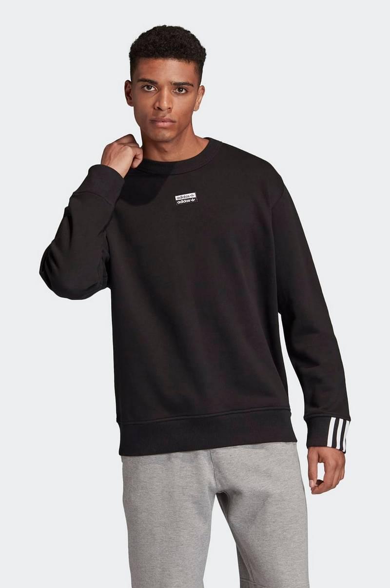 adidas Originals Sweatshirt R.Y.V. Crew Svart Herre